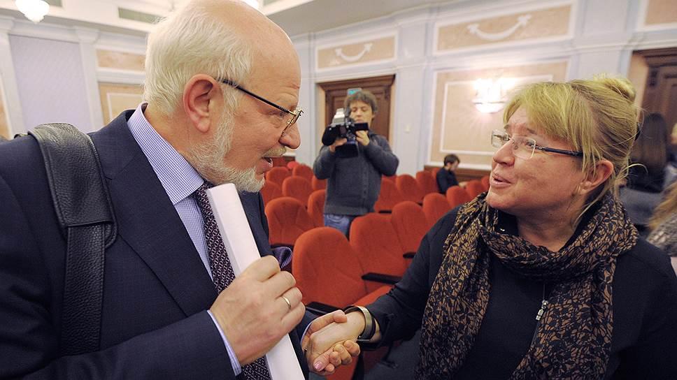 Михаил Федотов поддержал Елену Жемкову в  противостоянии с Минюстом