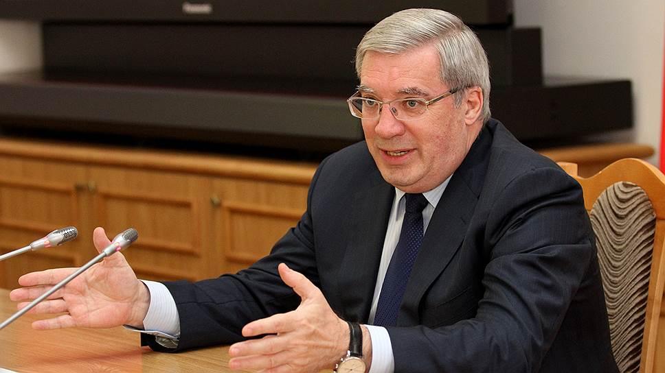 Виктор Толоконский сообщил суду, что уверен в невиновности своего бывшего советника Александра Солодкина, которому инкриминируется участие в крупном ОПС