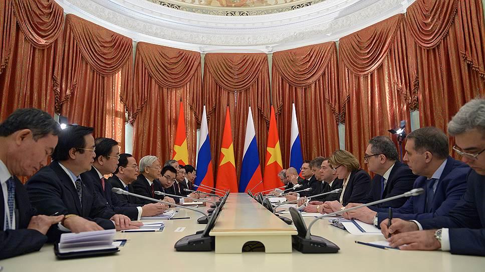 Россия и Вьетнам будут дружить зонами