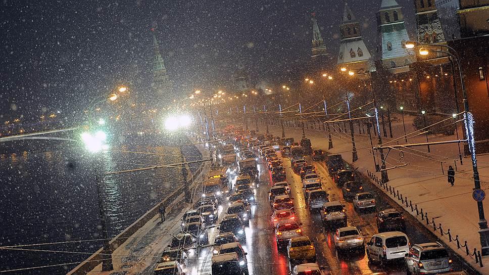 Время проезда по столичным улицам сократилось в среднем на 5%