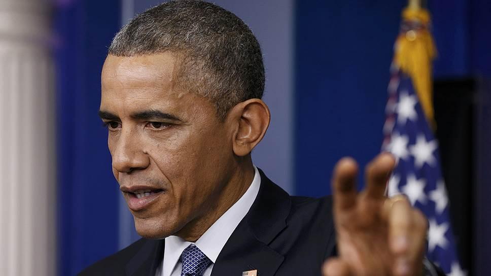 Как Барак Обама подписал акт о новых мерах против России