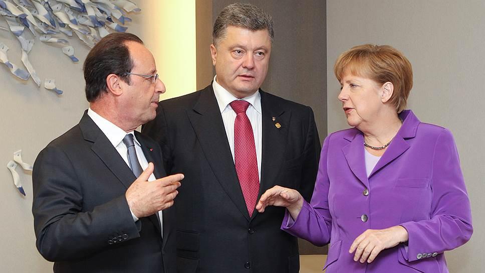 Для переговоров о Донбассе никак не подберут слов