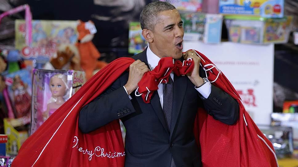 Бараку Обаме подарили рейтинг на Рождество
