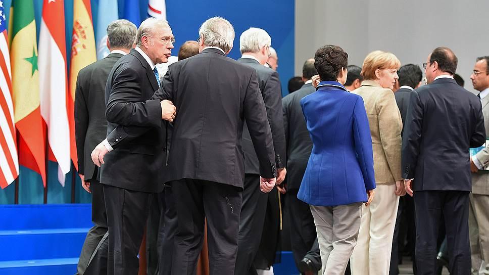 В уходящем году мировым лидерам не всегда удавалось найти общий язык