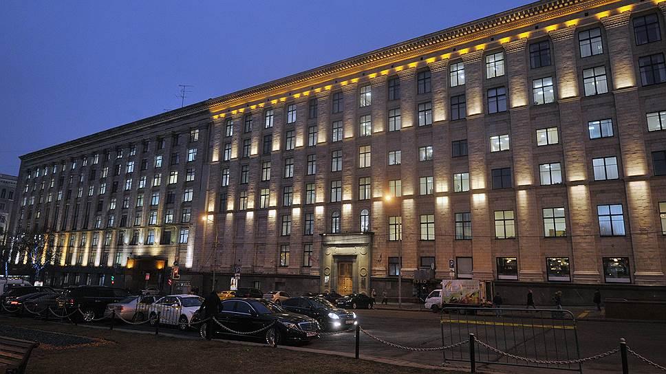 Здание Министерства экономического развития России