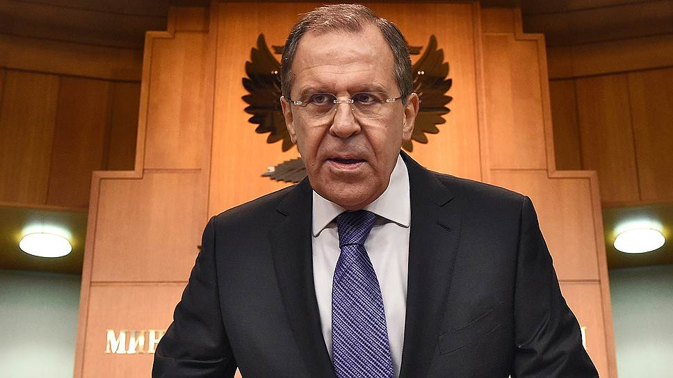 Сергей Лавров признал, что в 2014 году внешнеполитическая ситуация была гораздо сложнее, чем в предыдущие годы