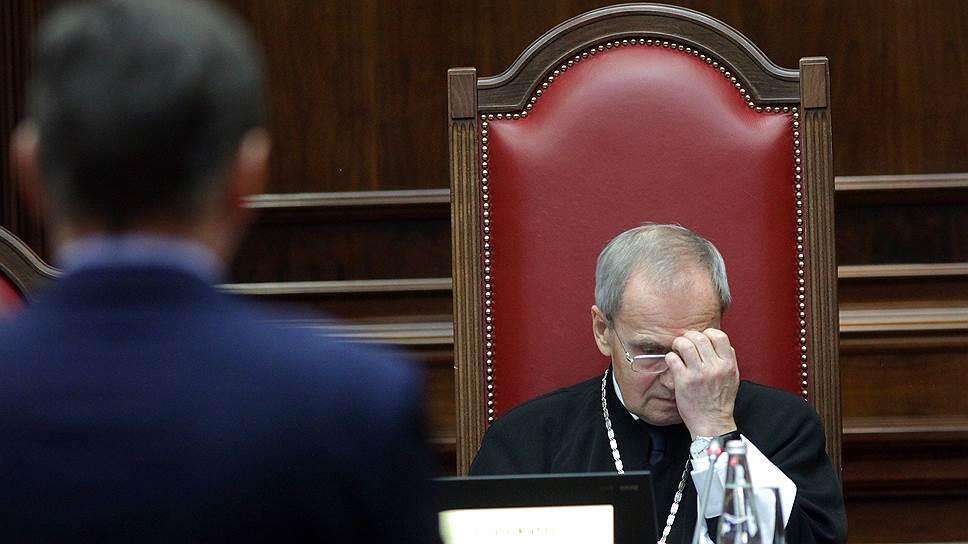 Конституционный суд рассмотрел надзор