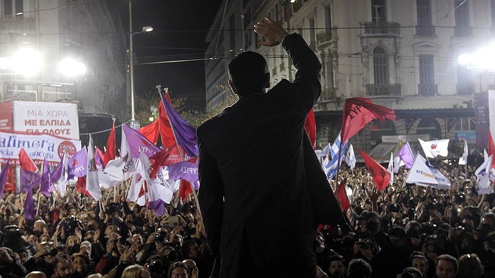 Как голосовала Греция