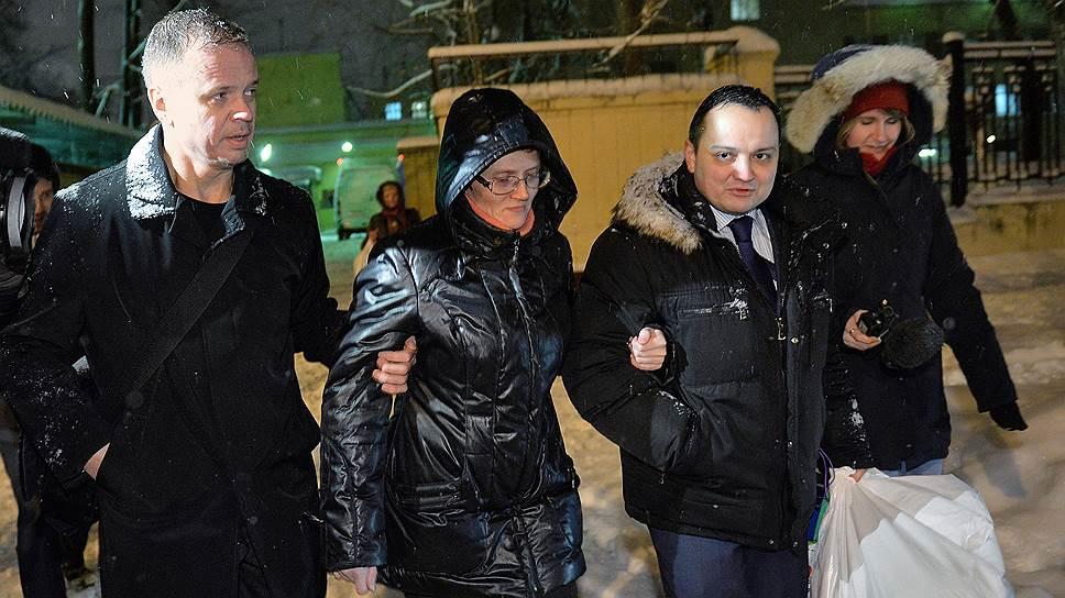 Как Светлана Давыдова вышла из СИЗО