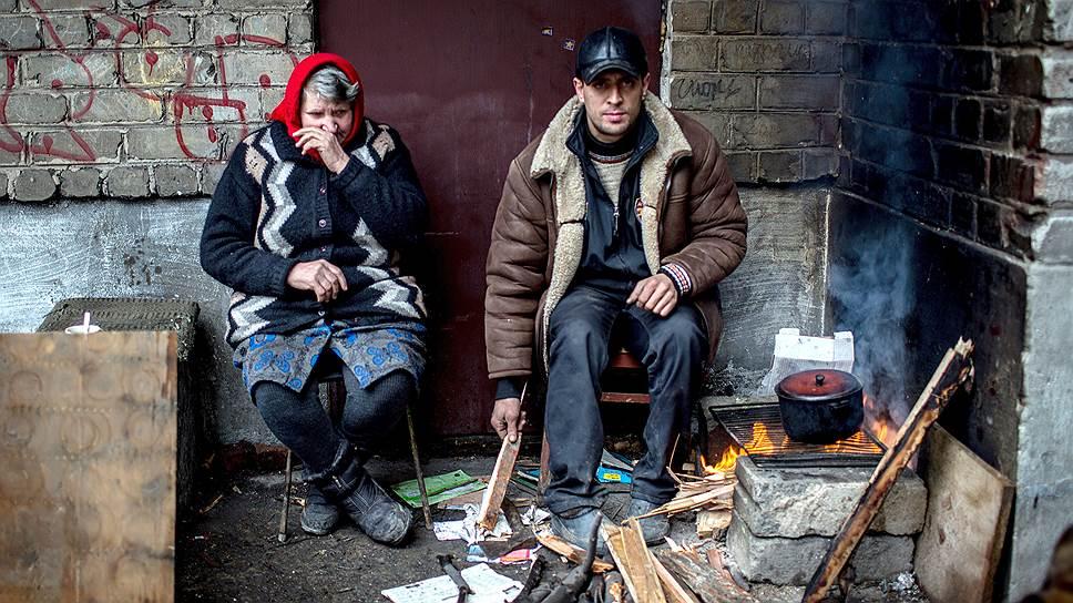 Жители Дебальцево рассказывают, что в последние недели они живут «как в блокадном Ленинграде или в Сталинграде»