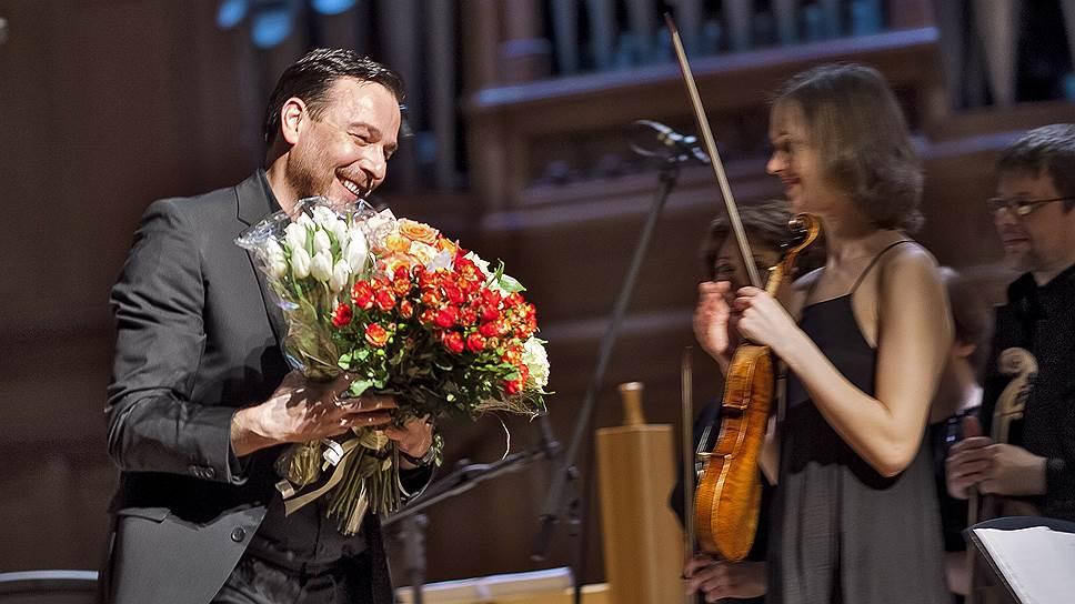Икону барочной музыки Андреаса Шолля в Москве встречали как рок-певца