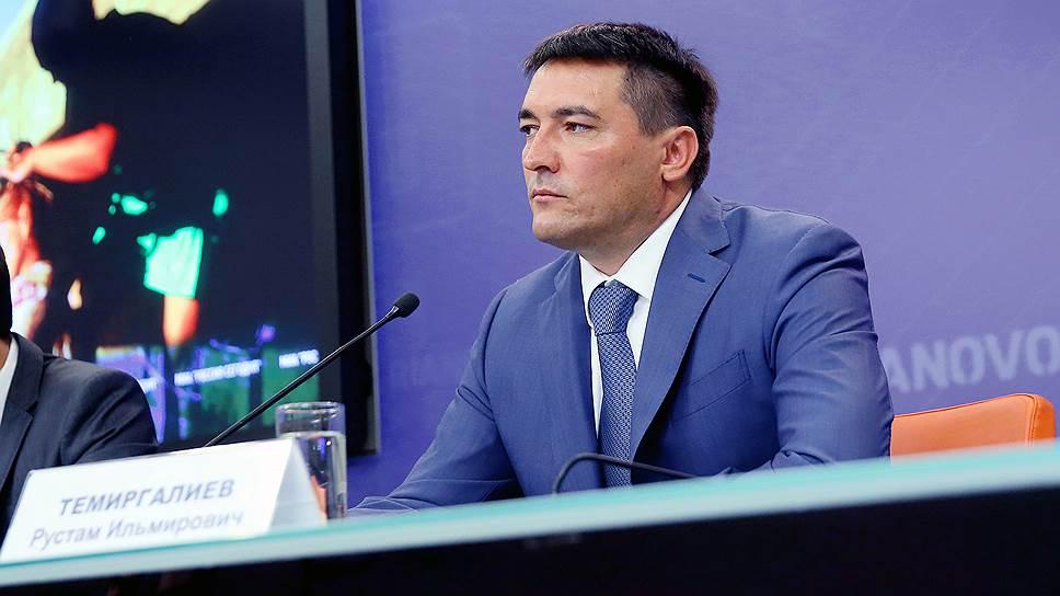 Бывший первый вице-премьер Крыма Рустам Темиргалиев