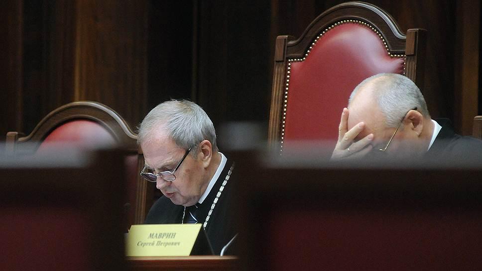 КС во главе с Валерием Зорькиным признал неконституционными ряд норм закона «О прокуратуре» и практику их применения в отношении НКО