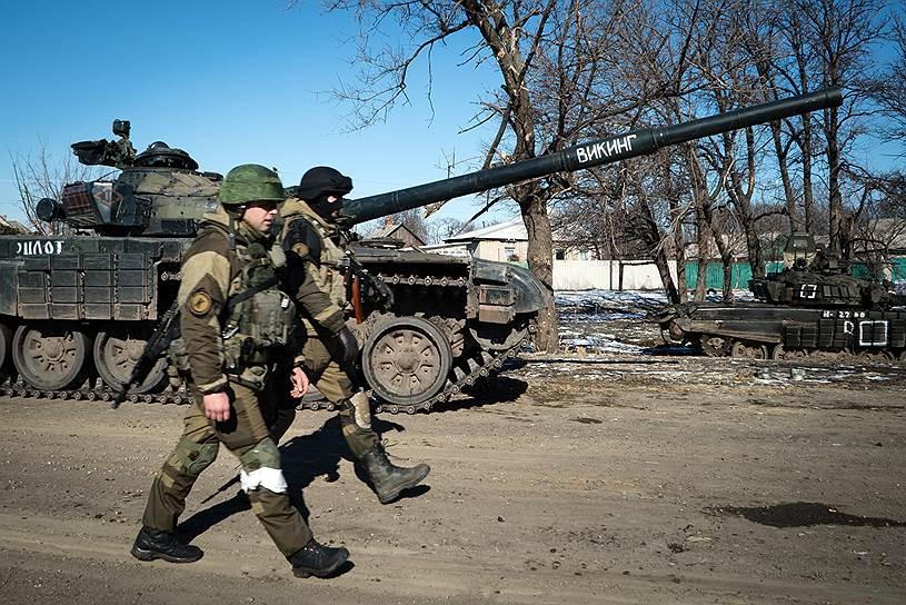 Вечером появилась информация о полном выводе из Дебальцево украинских частей