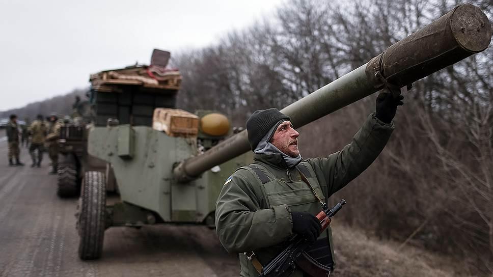 С артиллерией — на выход