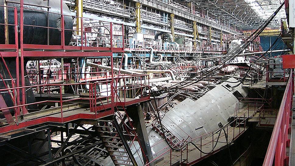 Цех Амурского судостроительного завода