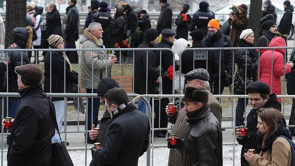 Как Москва проводила Бориса Немцова
