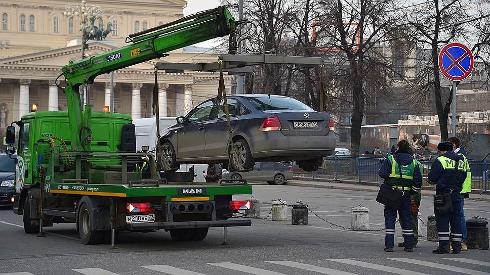 Москва выбирает между штрафами и пробками