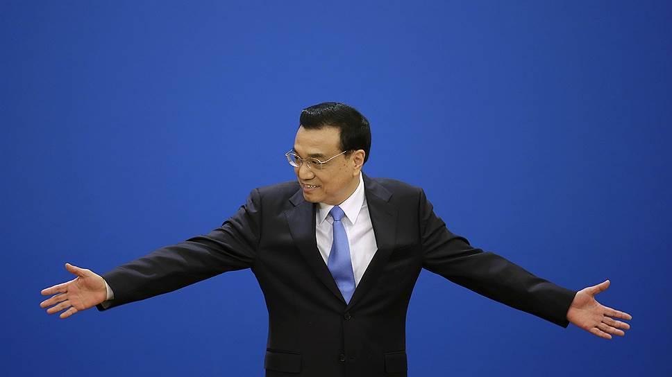 Премьер Госсовета Ли Кэцян готов до предела расширить доступ частным капиталам в китайское народное хозяйство