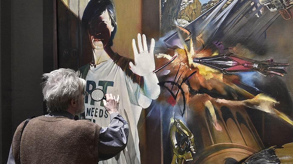 Отыскать ключевую гиперреалистическую работу на выставке в Третьяковской галерее — нелегкая задача
