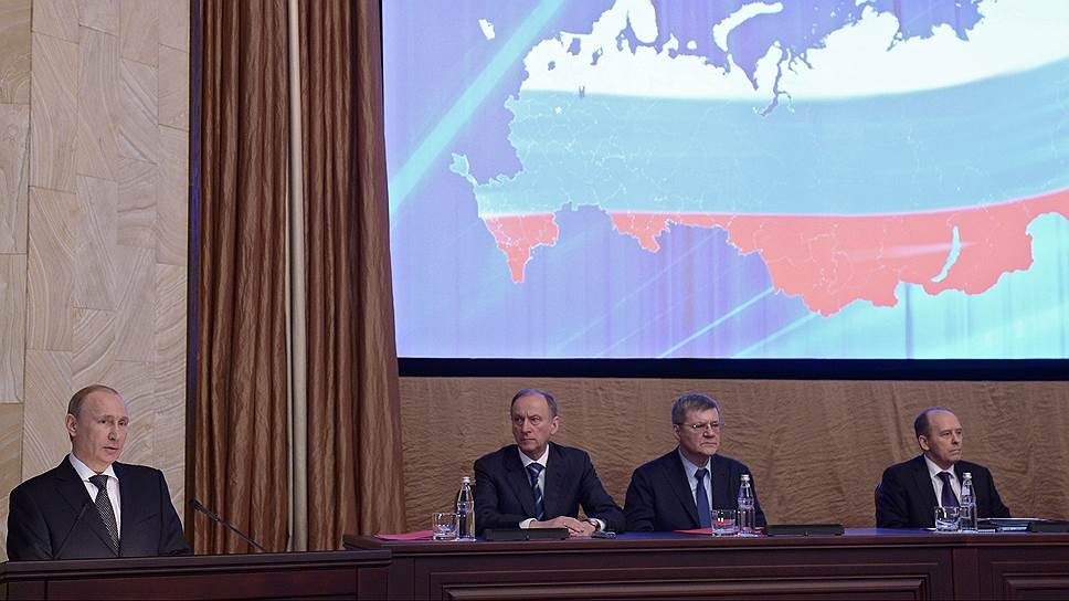Президент поставил ФСБ предвыборную задачу