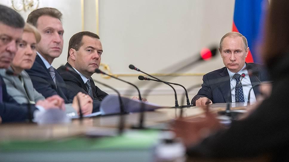 Владимир Путин и члены правительства на вчерашней встрече дали понять, что их нельзя запугать ничем и что они могут запугать всем
