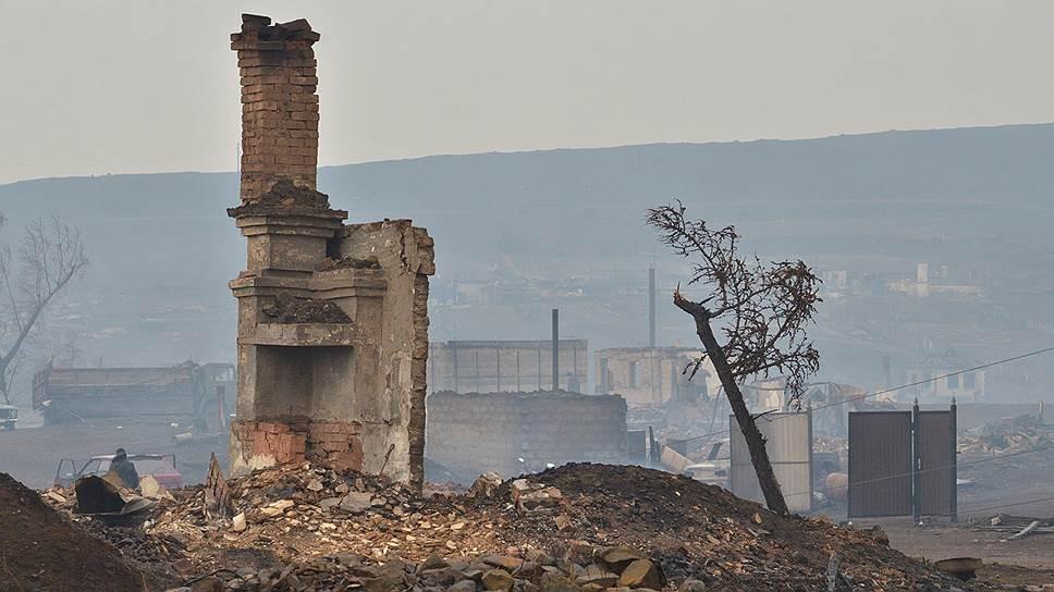 Огонь в Сибири тушат деньгами и законопроектами