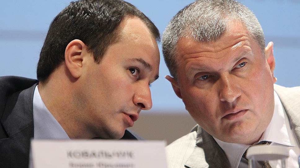 Игорь Сечин и Борис Ковальчук надеются с помощью президента возродить проект по масштабным инвестициям «Роснефтегаза» в энергетику