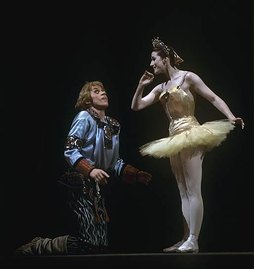Борис Акимов и Майя Плисецкая. «Конёк-горбунок», Большой театр, 1971 год
