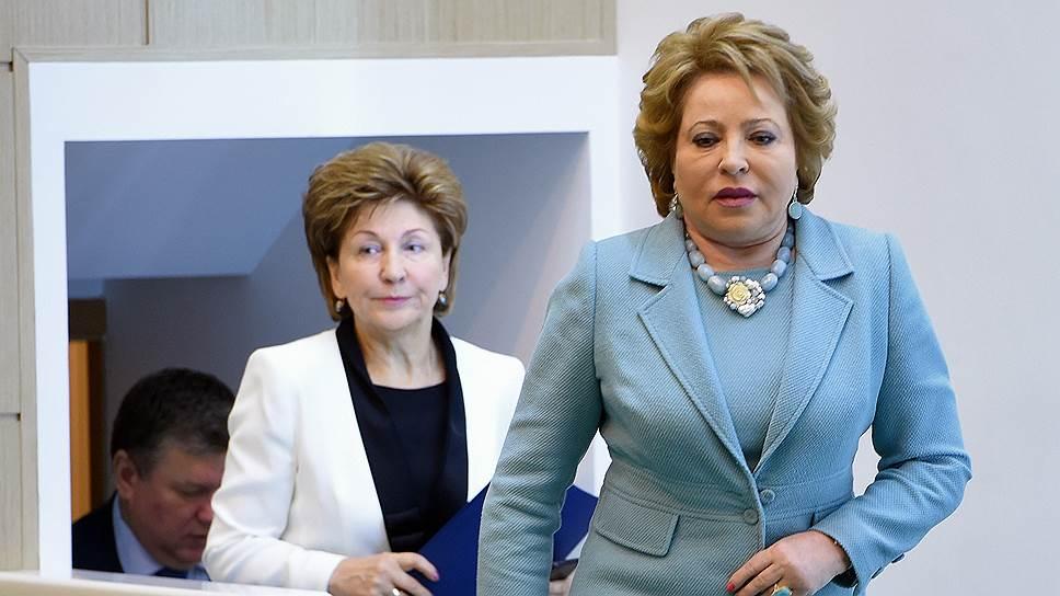 Почему Валентина Матвиенко раскритиковала макеты парламентского центра