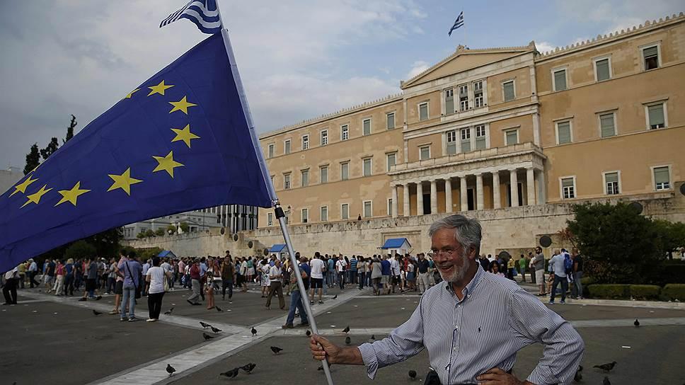 Греция выбирает из двух зол