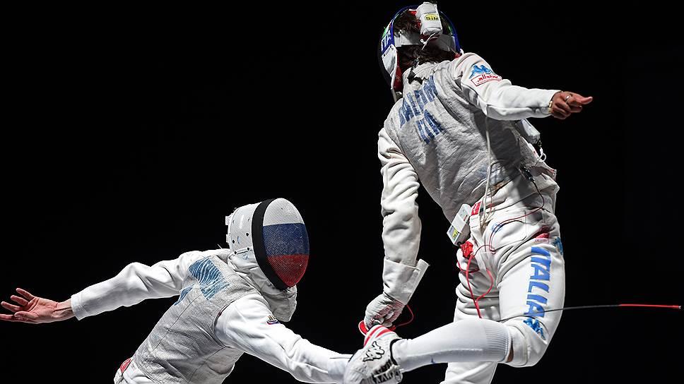 Россия оторвалась от Италии / С девятью медалями сборная заняла первое место на чемпионате мира