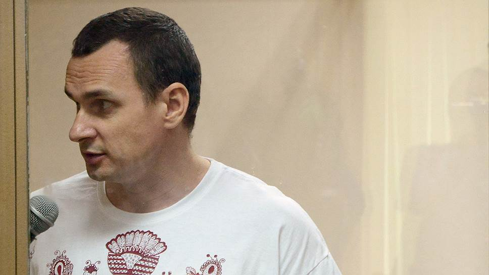 Как шел суд над Олегом Сенцовым