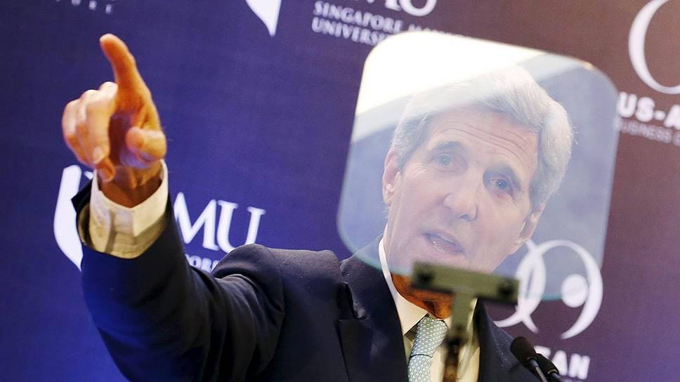 Джон Керри поторгуется с Азией