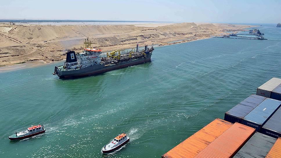 Египет празднует прирост судоходности