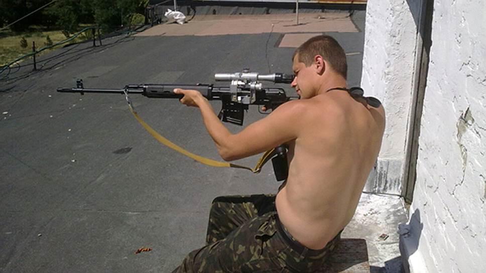 Снайпер ЛНР раскрылся перед следствием