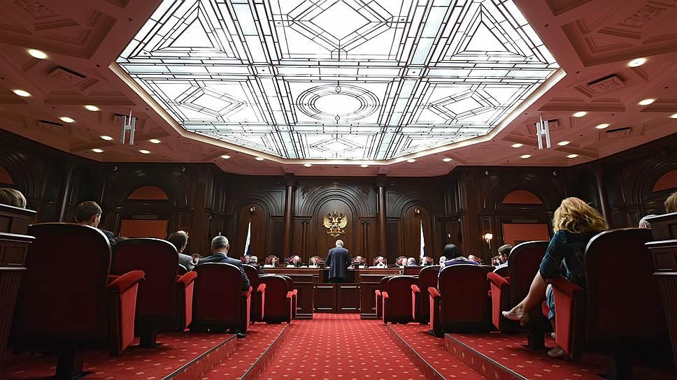 В Конституционном суде обнаружен секретный запрос из Госдумы
