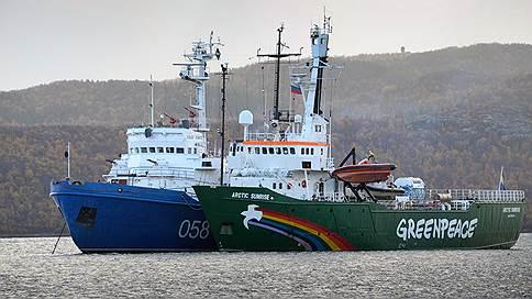 €7 млн под килем  / С России могут взыскать компенсацию за акцию Greenpeace