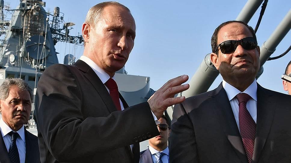 Политические отношения Москва и Каир намерены подкреплять торгово-экономическим сотрудничеством
