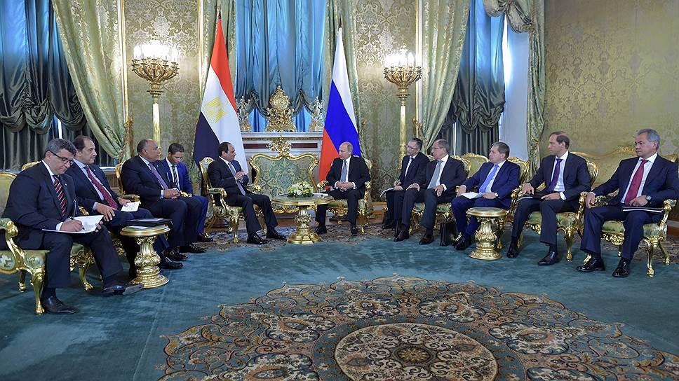 АЭС в Египте уперлась в госкредит