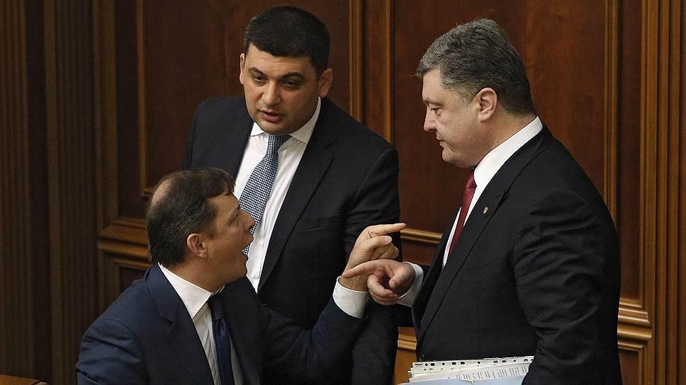 Украинская коалиция вступила в переходный период