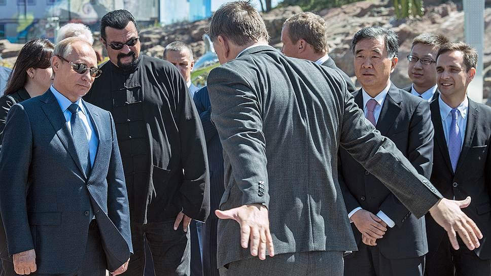 Как Стивен Сигал посетил Владивосток