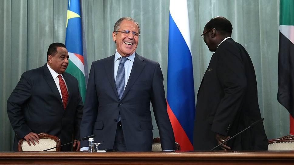 Как два Судана повстречались в Москве