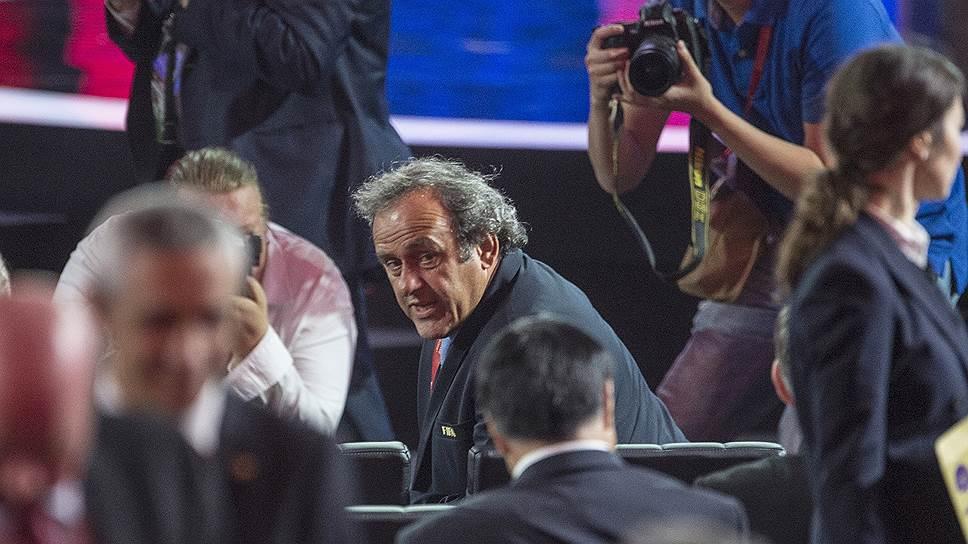 Мишель Платини готовится к смене статуса