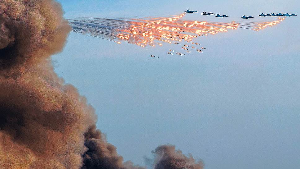 Военно-воздушные — Сирии