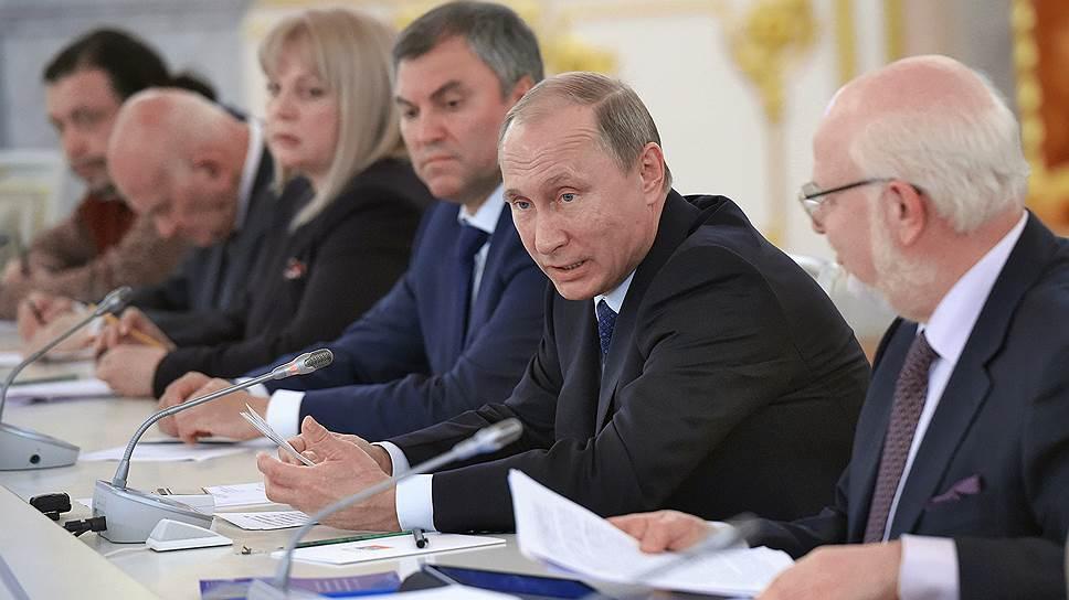 Владимир Путин пошел навстречу правозащитникам