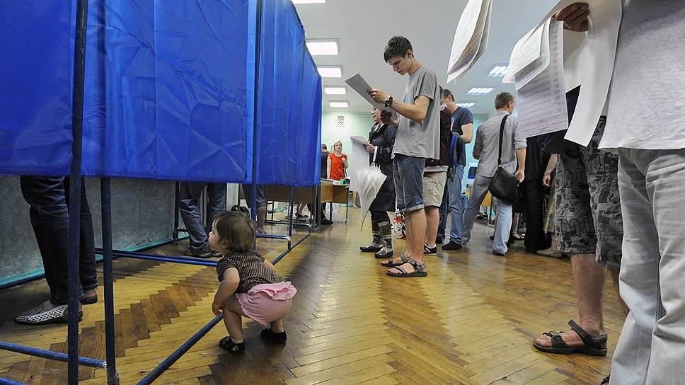 Донбасс подморозил выборы