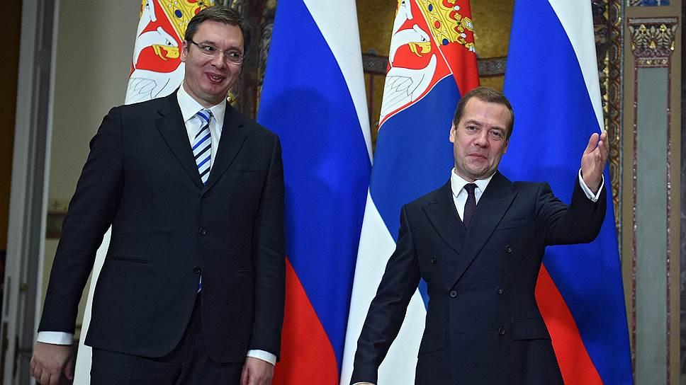 Как Россия и Сербия собрались дружить в пределах разумного