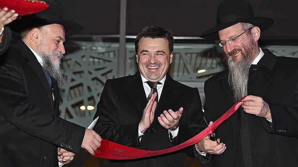 Евреи зажгли свечу на Рублевке