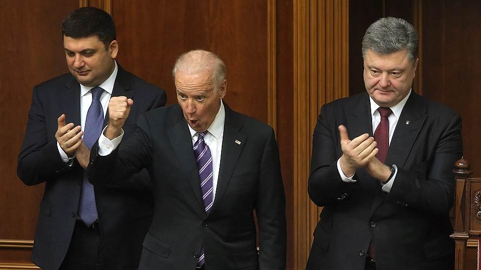 Как Украина получила вице-президентский наказ